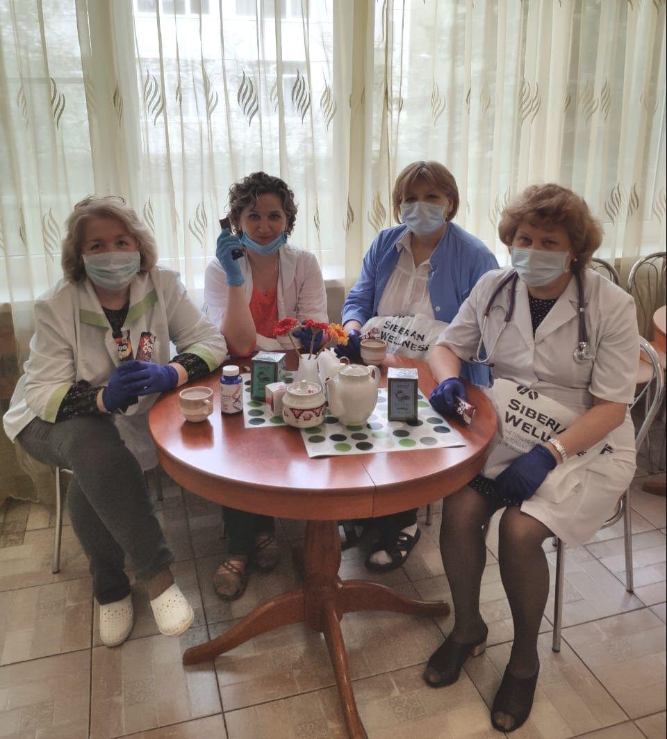 Эксперты Компании продумали и составили специальные наборы для «Сибирской поддержки» – средства для иммунитета, восстановления организма и снятия стресса
