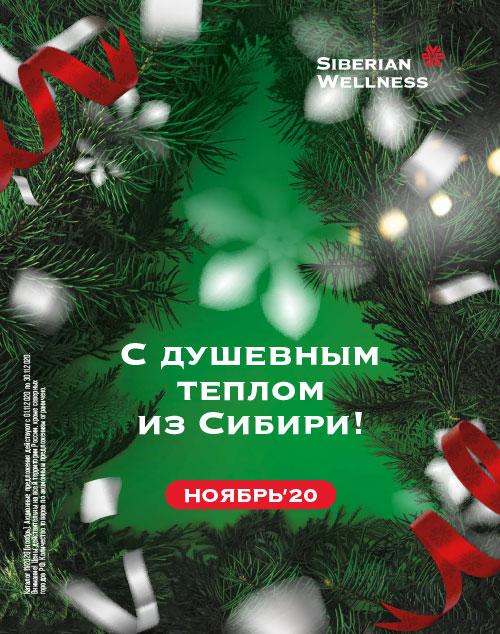 С душевным теплом из Сибири!, Ноябрь 2020