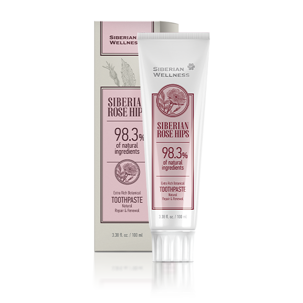 Siberian Rose Hips Extra Rich Botanical Toothpaste Repair and Renewal